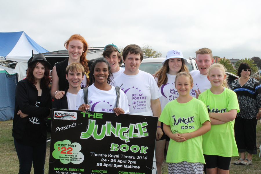 jungle book Relay for life Team also